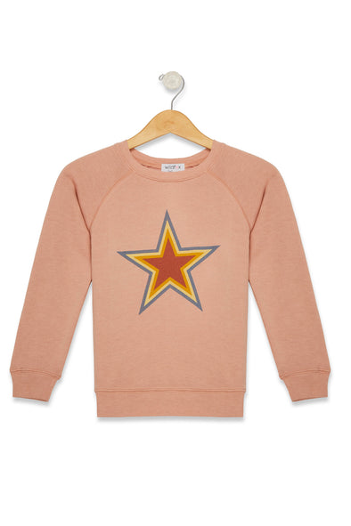 Kids Retro Star Sommers Sweater  | Cobra