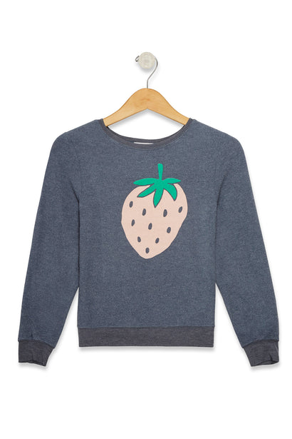 Kids Sweet Strawberry Baggy Beach Jumper | Baja