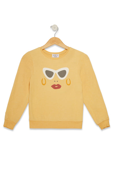 Littlefox Vacay Sunnies Baggy Beach Jumper | Sun