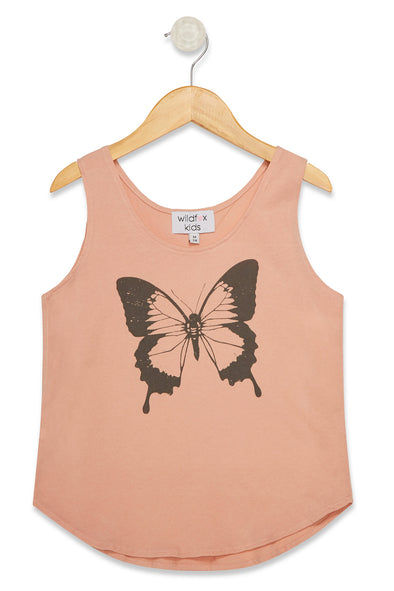 Kids Retro Butterfly Hiker Tank  | Cobra