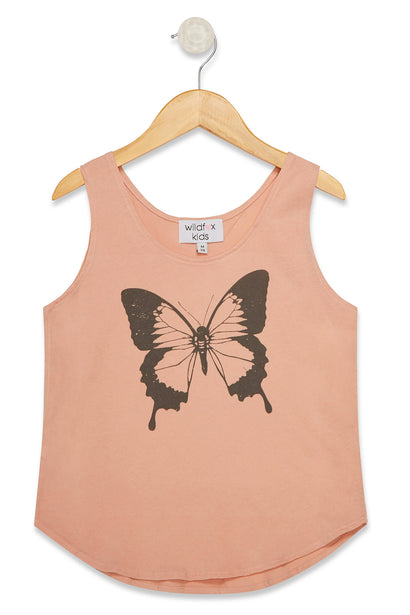 Littlefox Retro Butterfly Hiker Tank  | Cobra