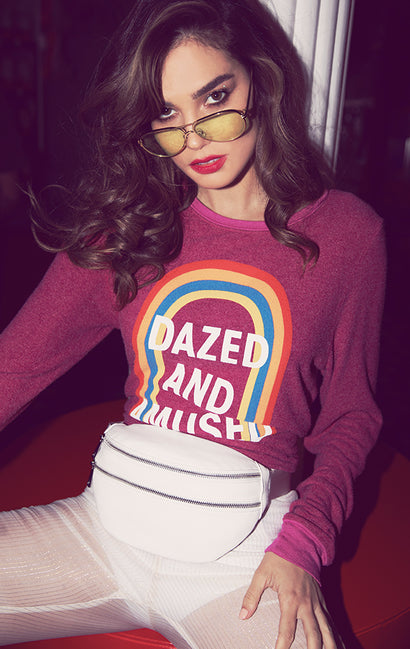Dazed and Amused Baggy Beach Jumper | Passion