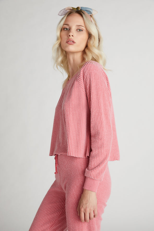 Tilda Crop  | French Rose