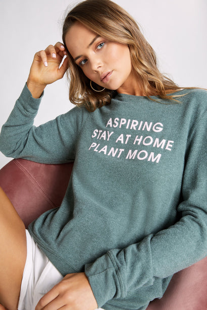 Plant Mom Baggy Beach Jumper  | Jungle