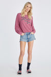 Stoned In Love Baggy Beach Jumper | Ruby
