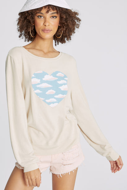 Light Hearted Baggy Beach Jumper | Salt