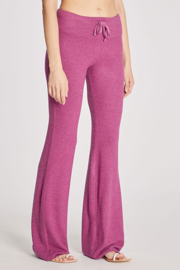 Tennis Club Pants | Magenta Purple