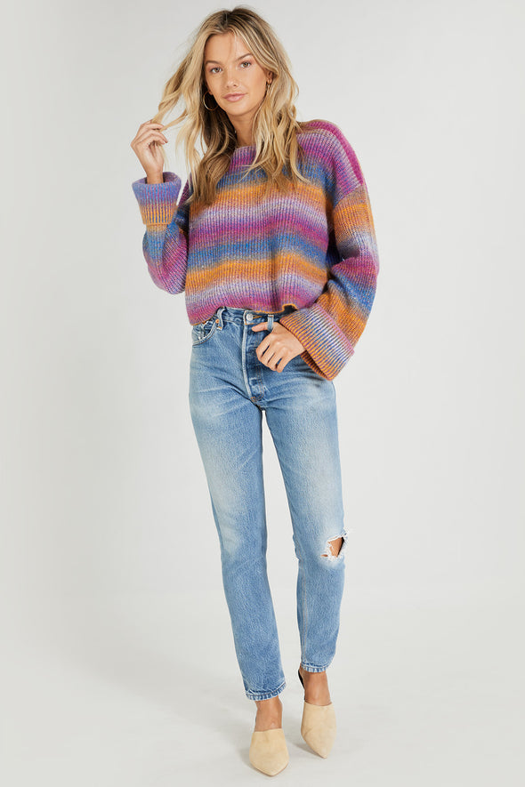 Maverick Sweater | Multi Colored