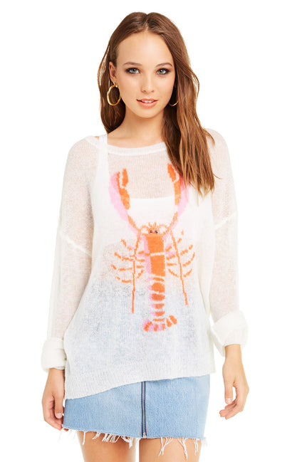 Rock Lobster Genisis Sweater | Vintage Lace