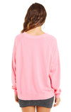 Thinking About The Gym Sommers Sweater | Bubble Gum
