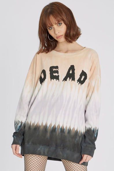 Drop Dead Roadtrip Sweatshirt | Nectar Dip Dye