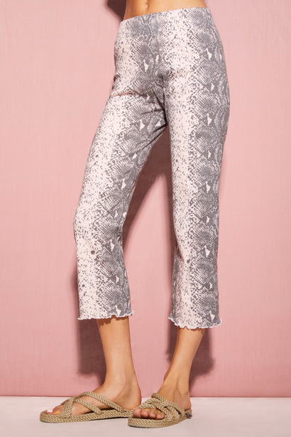 Pink Python Delia Pant  | Multi Colored