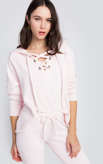 Hutton Sweater | Seashell Pink
