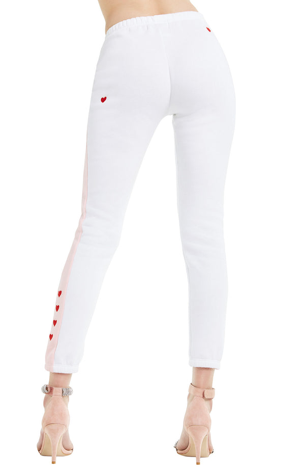 Love Track Knox Pants | Clean White Romantic