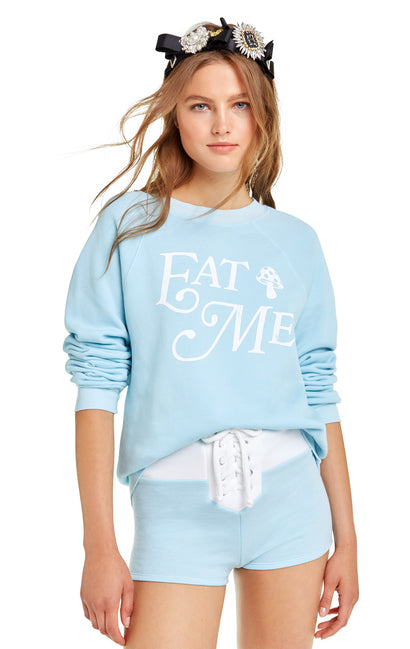 Eat Me Sommers Sweater | Honolulu Blue
