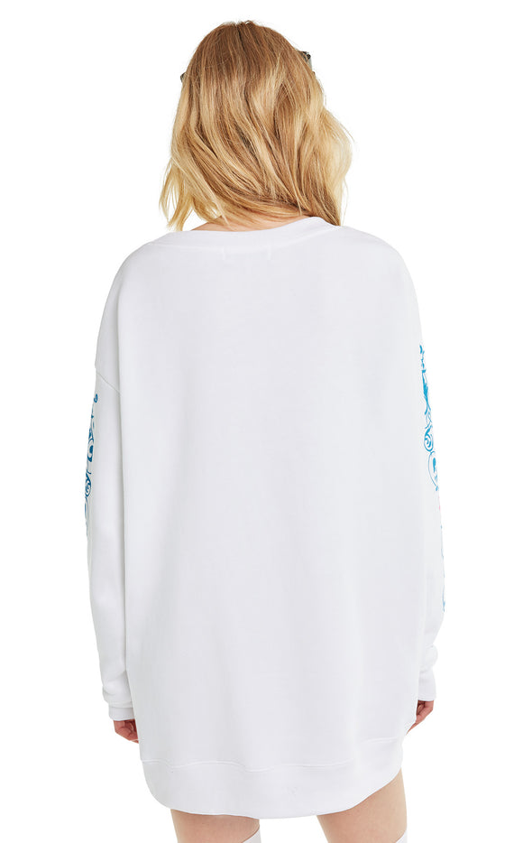 Wildcard Roadtrip Sweater | Clean White