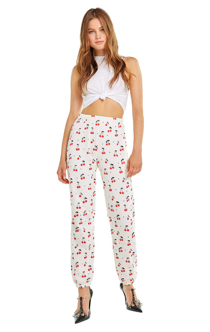 Cherry oh Baby Easy Sweats | Vintage Lace