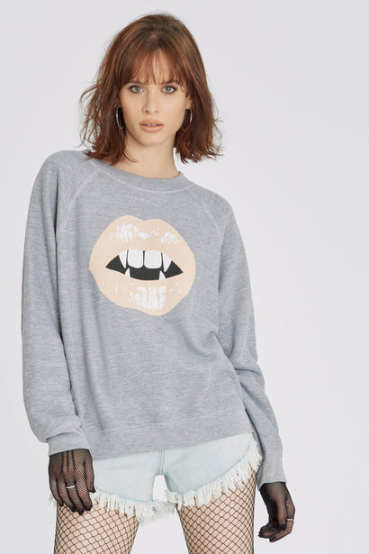Vampy Sommers Sweatshirt | Heather Grey