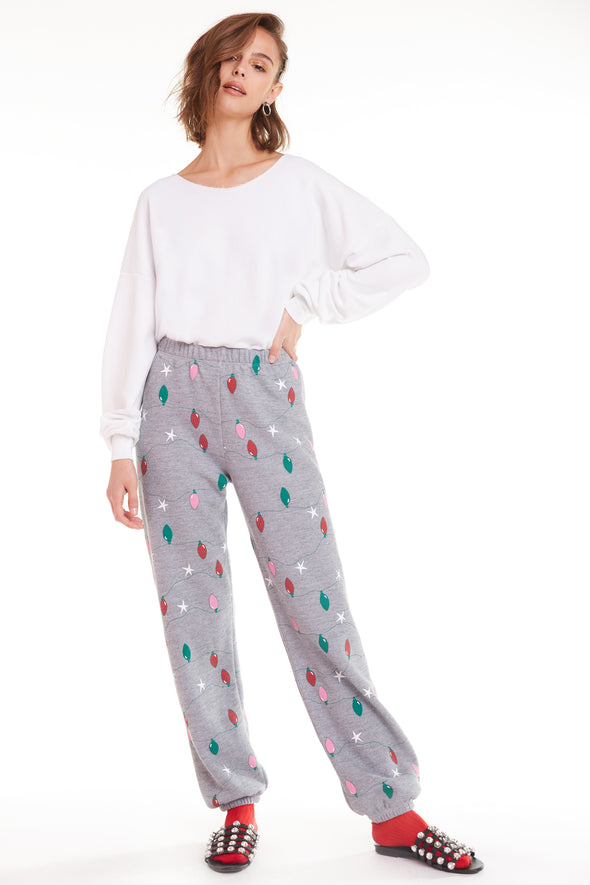 Twinkle Lights Easy Sweats