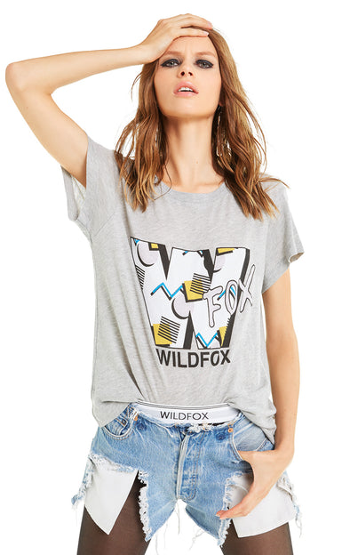 90's Wildfox No9 Tee | Heather