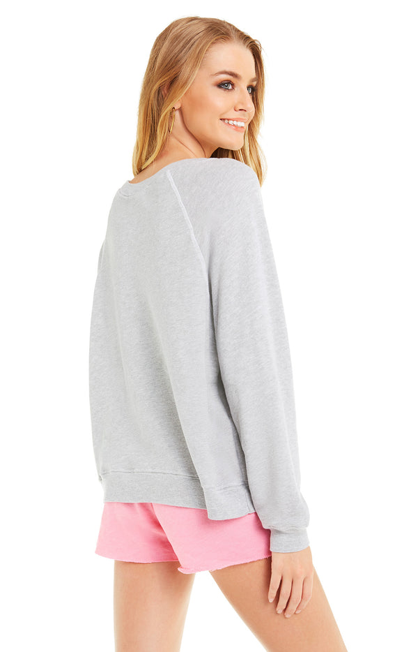 Hula Hula Sommers Sweater | Heather