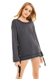 Jena Sweatshirt | Clean Black