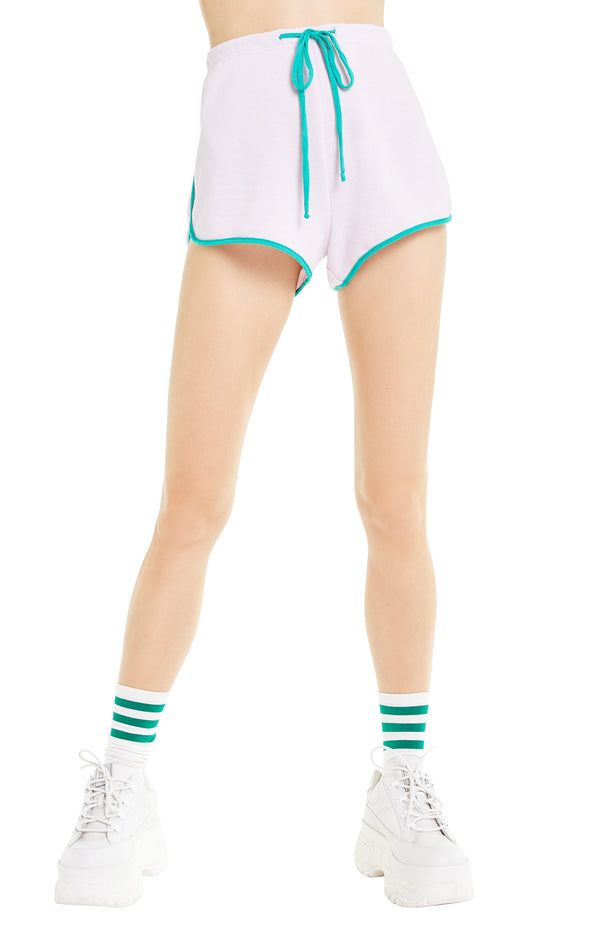 Pool Party Shorts | Primrose Emerald