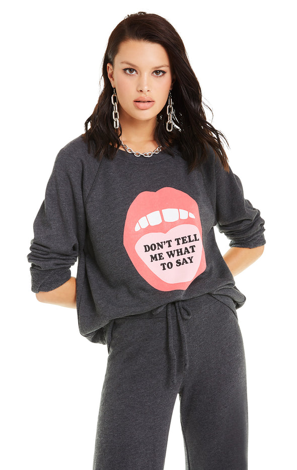 Don't Tell Me Sommers Sweater | Clean Black