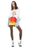 Burning Love Sommers Sweater | Vanilla