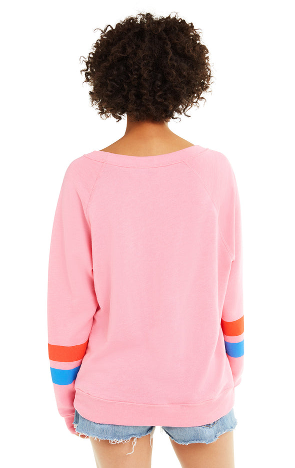 Track 76 Sommers Sweater | Bubble Gum