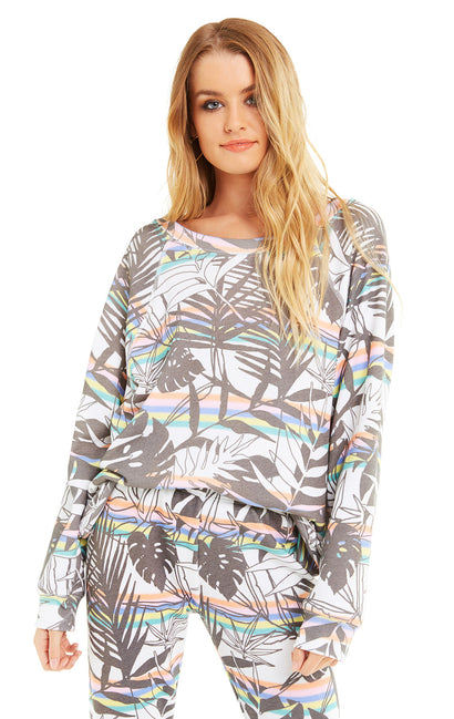 Striped Tropics Sommers Sweater | Multi