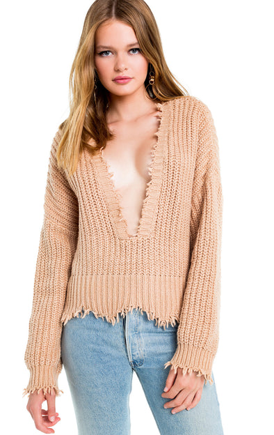 Palmetto Sweater | Desert Dunes