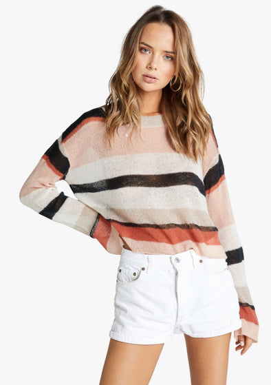 Sahara Stripe Phoebe Sweater