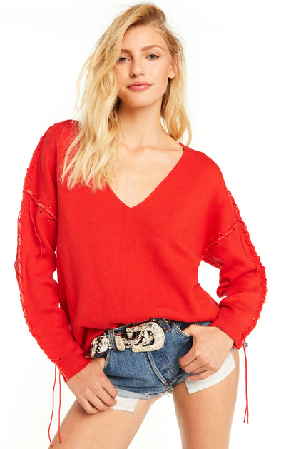 Longhorn Montana Sweater | Hot Lipstick