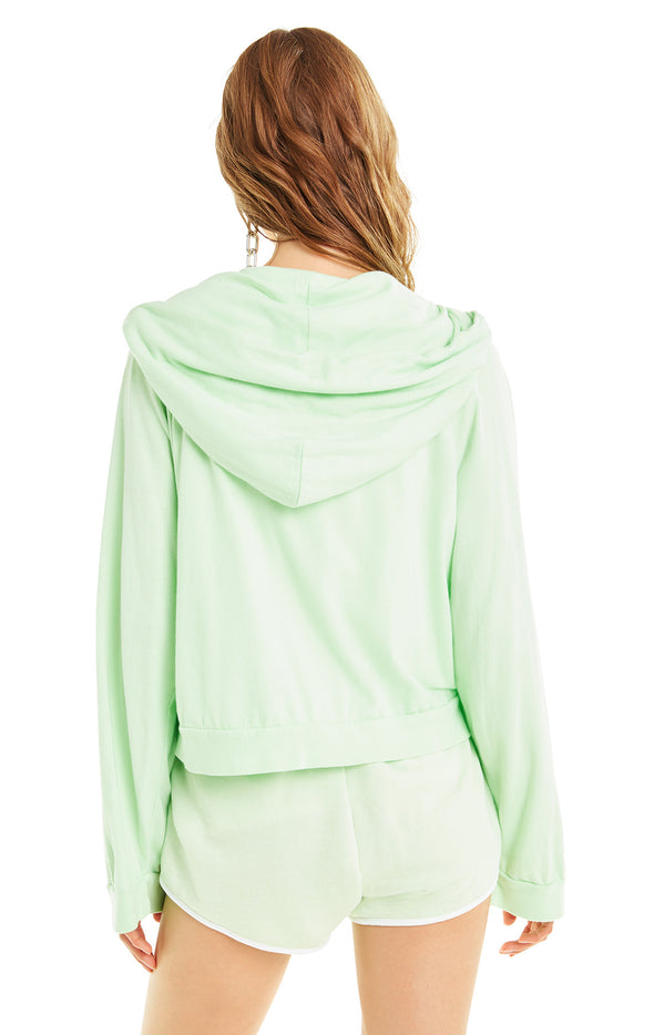 Hideout Hoodie | Soft Lime