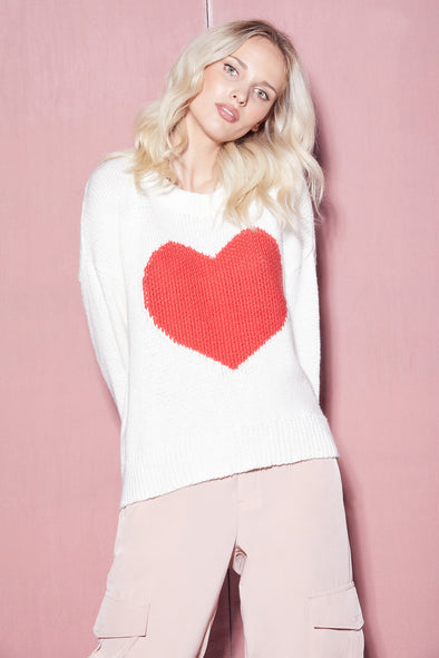 Heart Struck Jella Sweater