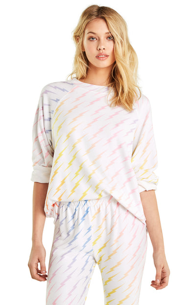 Bolt Gradient Sommers Sweater | Multi Colored
