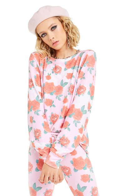 Electric Love Baggy Beach Jumper | Multi