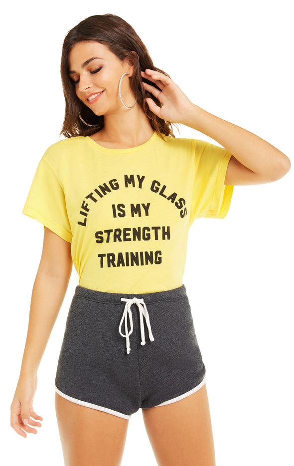 Strength Training Manchester Tee | Canary