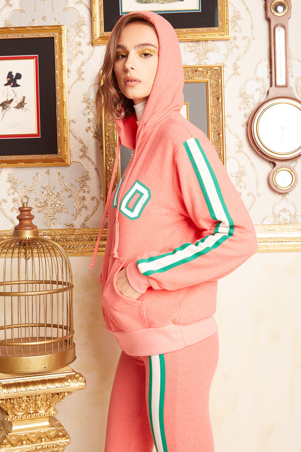 Classic Couture Venice Zip Hoodie | Preppy