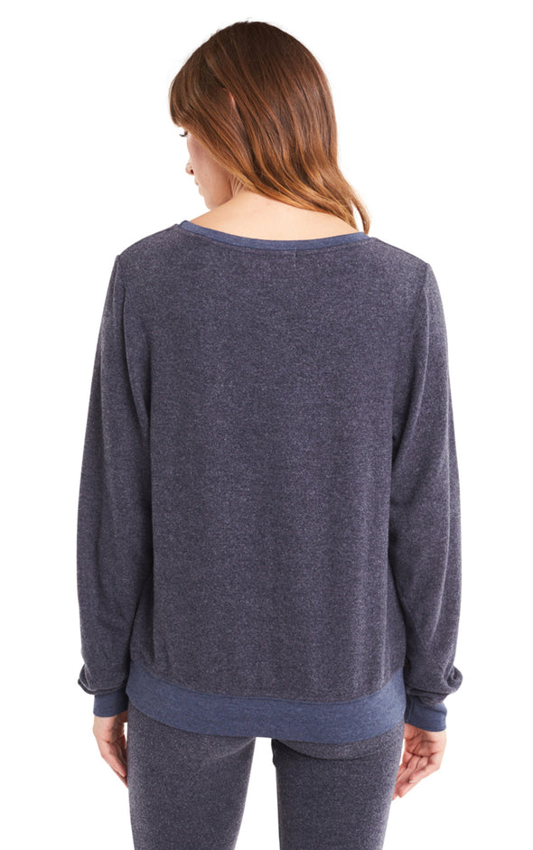 Baggy Beach Jumper | Oxford