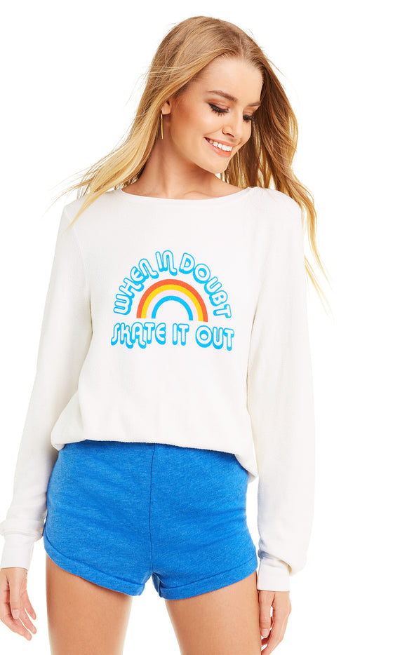Skate it Out Baggy Beach Jumper | Vintage Lace