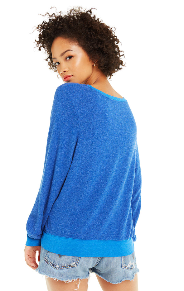 Lady Liberated Baggy Beach Jumper | Slate