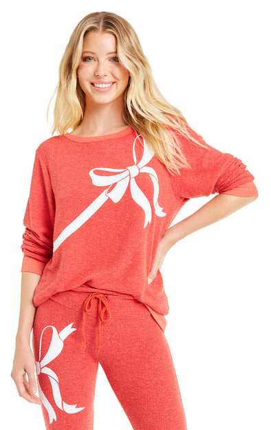 Gift Wrapped Baggy Beach Jumper