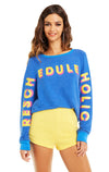 Rescheduleholic Baggy Beach Jumper | Slate