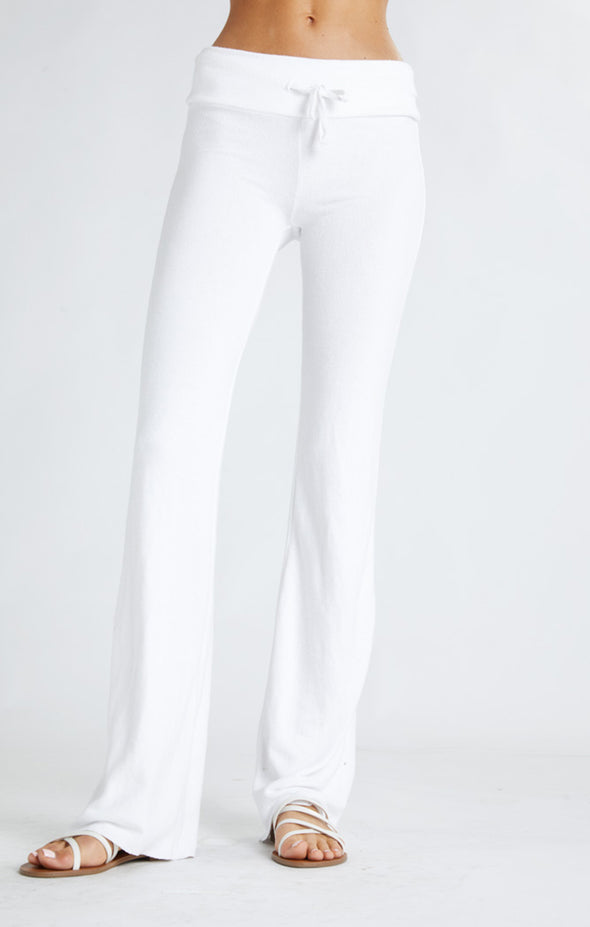 Tennis Club Pants | Clean White