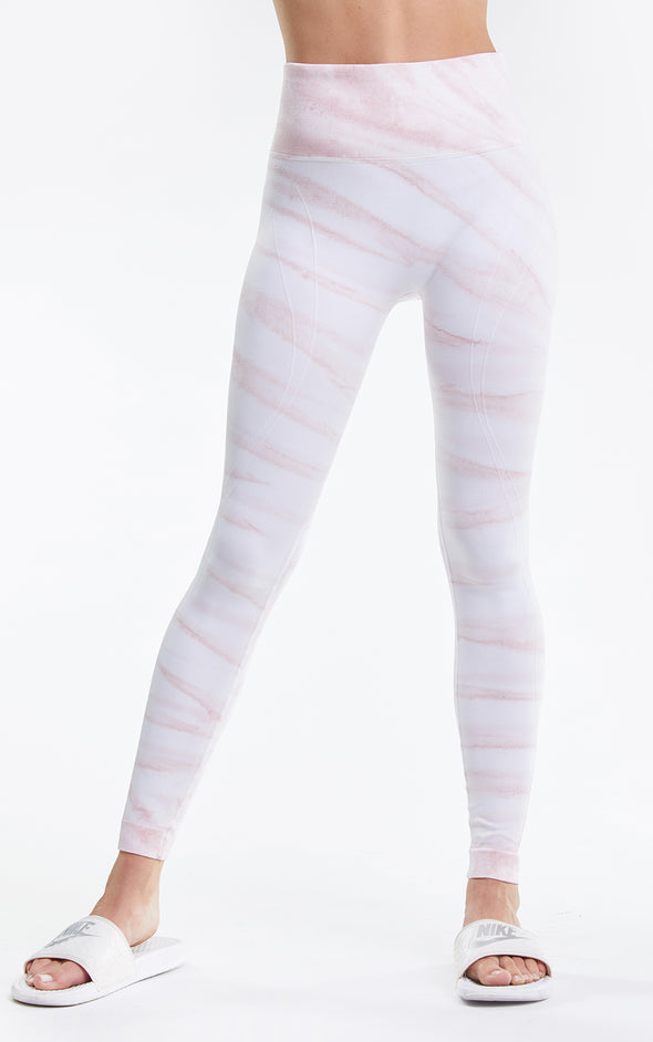 Kris Legging, Leggings, Tights, Activewear legging, Yoga pants, Rose Marble, Wildfox