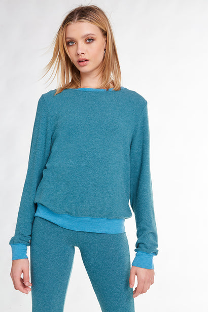 Baggy Beach Jumper, Crew Neck, Sweatshirt, Tide, Wildfox