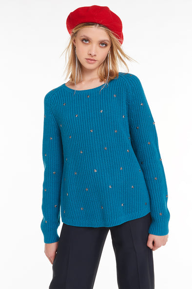Beaming Star Erika Sweater, Sweatshirt, Sweater, Tide, Wildfox