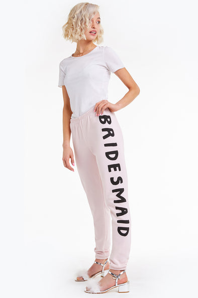 Bridesmaid Knox Pants, Pants, Sweats, Bottoms, Rose, Wildfox